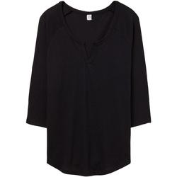 textil Dame T-shirts & poloer Alternative Apparel AT008 Black