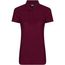 textil Dame Polo-t-shirts m. korte ærmer Pro Rtx RX105F Burgundy