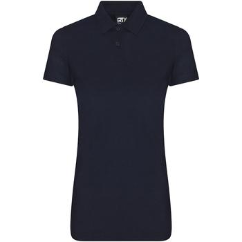 textil Dame Polo-t-shirts m. korte ærmer Pro Rtx RX105F Navy