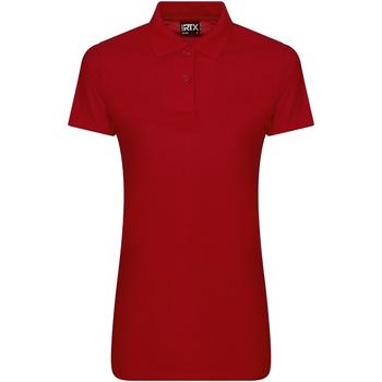textil Dame Polo-t-shirts m. korte ærmer Pro Rtx RX105F Red