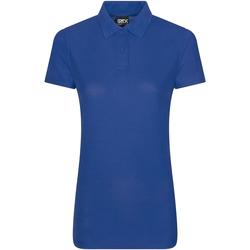 textil Dame Polo-t-shirts m. korte ærmer Pro Rtx RX105F Royal