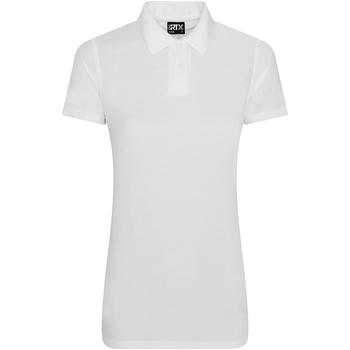 textil Dame Polo-t-shirts m. korte ærmer Pro Rtx RX105F White