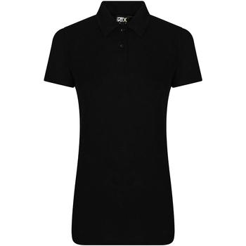 textil Dame Polo-t-shirts m. korte ærmer Pro Rtx RX105F Black