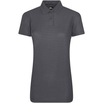 textil Dame Polo-t-shirts m. korte ærmer Pro Rtx RX105F Solid Grey