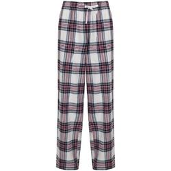 textil Dame Pyjamas / Natskjorte Sf SK83 White/Pink