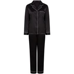 textil Dame Pyjamas / Natskjorte Towel City TC55 Black