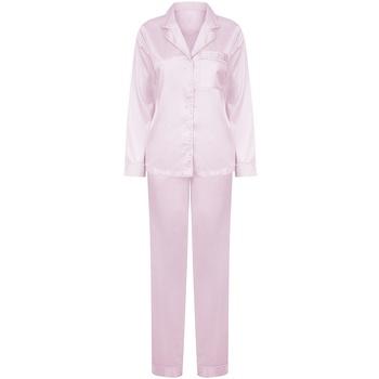 textil Dame Pyjamas / Natskjorte Towel City TC55 Light Pink
