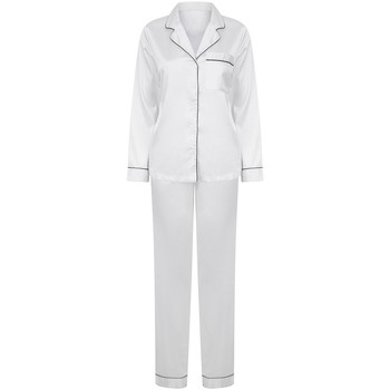 textil Dame Pyjamas / Natskjorte Towel City TC55 White
