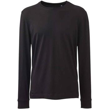 textil Herre Langærmede T-shirts Anthem AM11 Black