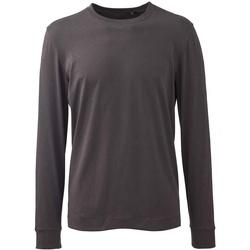textil Herre Langærmede T-shirts Anthem AM11 Charcoal Grey