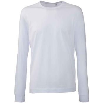 textil Herre Langærmede T-shirts Anthem AM11 White