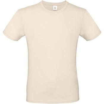 textil Dame T-shirts m. korte ærmer B And C BA210 Natural