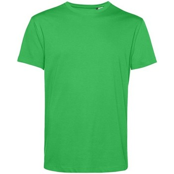 textil Herre T-shirts m. korte ærmer B&c BA212 Apple Green