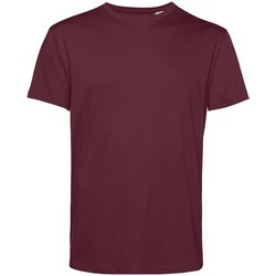 textil Herre T-shirts m. korte ærmer B&c BA212 Burgundy