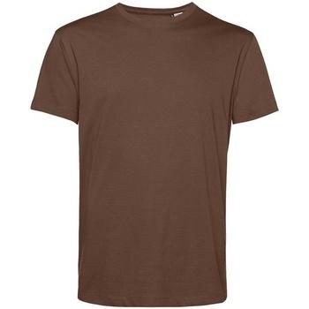 textil Herre T-shirts m. korte ærmer B&c BA212 Coffee