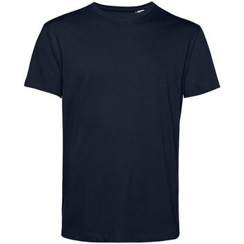 textil Herre T-shirts m. korte ærmer B&c BA212 Dark Navy