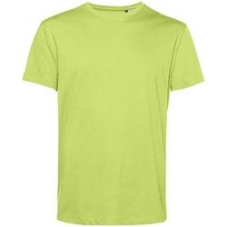 textil Herre T-shirts m. korte ærmer B&c BA212 Lime Green