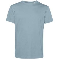 textil Herre T-shirts m. korte ærmer B&c BA212 Misty Blue