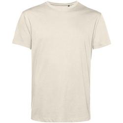 textil Herre T-shirts m. korte ærmer B&c BA212 Off White