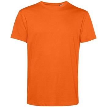 textil Herre T-shirts m. korte ærmer B&c BA212 Orange