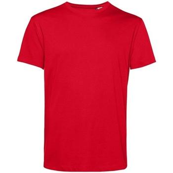 textil Herre T-shirts m. korte ærmer B&c BA212 Red