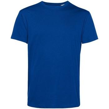 textil Herre T-shirts m. korte ærmer B&c BA212 Royal Blue