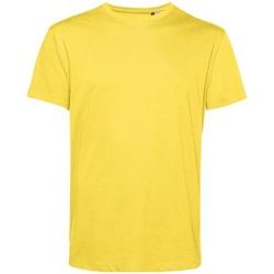 textil Herre T-shirts m. korte ærmer B&c BA212 Yellow