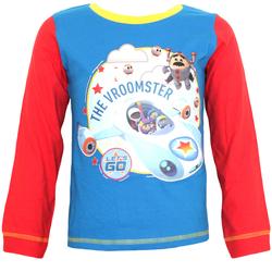 textil Dreng Pyjamas / Natskjorte Go Jetters  Blue/Red