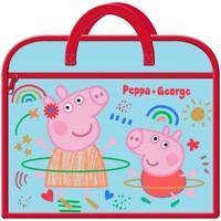 Tasker Børn Skoletasker Peppa Pig  Blue/Red