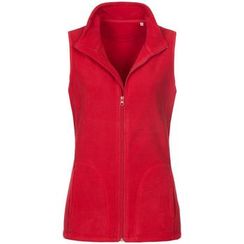 textil Dame Jakker Stedman  Scarlet Red