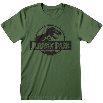textil T-shirts m. korte ærmer Jurassic Park  Green