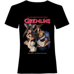 textil T-shirts m. korte ærmer Gremlins  Black