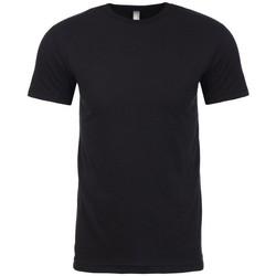 textil T-shirts m. korte ærmer Next Level NX6410 Black