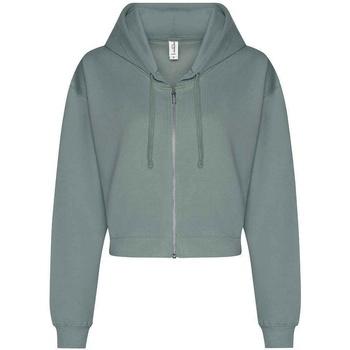 textil Dame Sweatshirts Awdis  Dusty Green