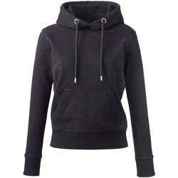 textil Dame Sweatshirts Anthem AM03 Black