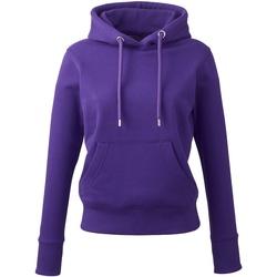 textil Dame Sweatshirts Anthem AM03 Purple