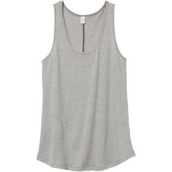 textil Dame Toppe / T-shirts uden ærmer Alternative Apparel AT012 Smoke Grey