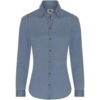textil Dame Skjorter / Skjortebluser Awdis SD045 Light Blue