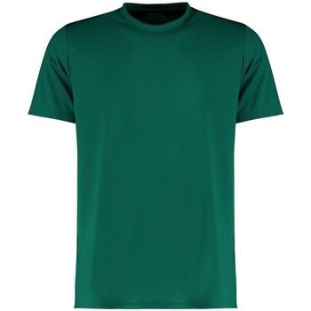 textil Herre T-shirts m. korte ærmer Kustom Kit KK555 Bottle Green
