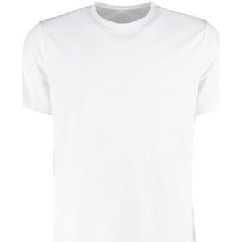 textil Herre T-shirts m. korte ærmer Kustom Kit KK555 White