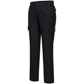 textil Herre Cargo bukser Portwest PW363 Black