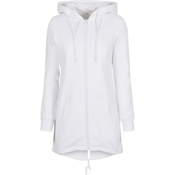 textil Dame Sweatshirts Build Your Brand BY148 White