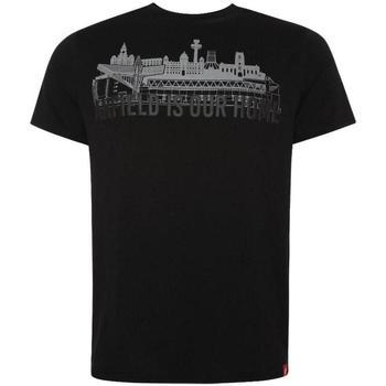 textil Herre T-shirts m. korte ærmer Liverpool Fc  Black