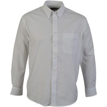 textil Herre Skjorter m. lange ærmer Absolute Apparel  White