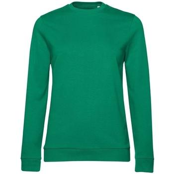 textil Dame Sweatshirts B&c WW02W Kelly Green