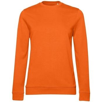 textil Dame Sweatshirts B&c WW02W Orange