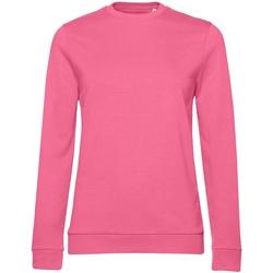 textil Dame Sweatshirts B&c WW02W Pink