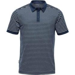 textil Herre Polo-t-shirts m. korte ærmer Stormtech TGP-1 Navy/White