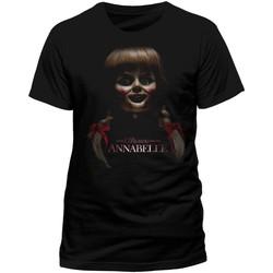 textil T-shirts m. korte ærmer Annabelle  Black