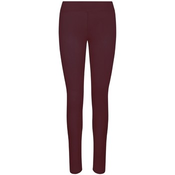 textil Dame Leggings Awdis JC070 Burgundy